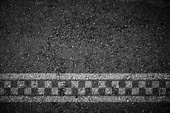 Υπόβαθρο αγώνα γραμμών τερματισμού Στοκ Εικόνα