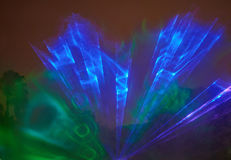 Υπόβαθρο ακτίνων ακτίνας λέιζερ Στοκ Εικόνες