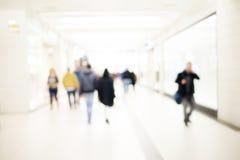 Υπόβαθρο ανθρώπων θαμπάδων Στοκ Εικόνα