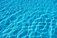 Υπόβαθρο αντανάκλασης ήλιων νερού πισινών νερό κυματισμών Στοκ εικόνα με δικαίωμα ελεύθερης χρήσης