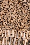 Υπόβαθρο αποθεμάτων καυσόξυλου Στοκ εικόνα με δικαίωμα ελεύθερης χρήσης