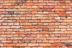 Υπόβαθρο από ένα κόκκινο brickwall Στοκ Φωτογραφίες