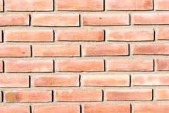 Υπόβαθρο από ένα κόκκινο brickwall Στοκ φωτογραφίες με δικαίωμα ελεύθερης χρήσης