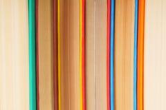Υπόβαθρο από τα πολύχρωμα βιβλία Στοκ Εικόνα