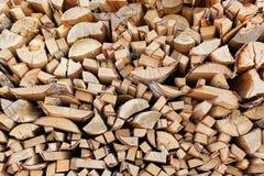 Υπόβαθρο από τα πρόσωπα τελών των ξύλινων φραγμών μιας διαφορετικής μορφής Στοκ εικόνα με δικαίωμα ελεύθερης χρήσης