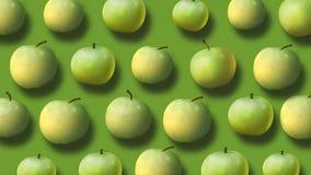 Υπόβαθρο από τα φρέσκα μήλα απόθεμα βίντεο