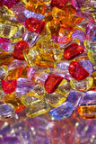 Υπόβαθρο από τις πολύχρωμες χάντρες Στοκ Φωτογραφίες