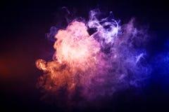 Υπόβαθρο από τον καπνό του vape Στοκ Εικόνες