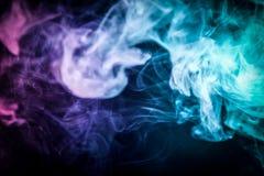 Υπόβαθρο από τον καπνό του vape Στοκ εικόνα με δικαίωμα ελεύθερης χρήσης