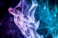 Υπόβαθρο από τον καπνό του vape Στοκ φωτογραφίες με δικαίωμα ελεύθερης χρήσης