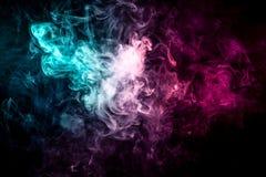 Υπόβαθρο από τον καπνό του vape απεικόνιση αποθεμάτων