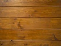 Υπόβαθρο από τους καφετιούς ξύλινους πίνακες Στοκ Φωτογραφίες