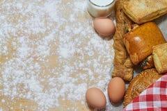 Υπόβαθρο αρτοποιείων στοκ εικόνες με δικαίωμα ελεύθερης χρήσης