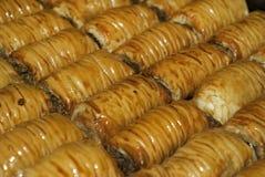 Υπόβαθρο - ασιατικό baklava γλυκών Στοκ εικόνες με δικαίωμα ελεύθερης χρήσης