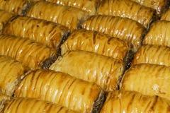 Υπόβαθρο - ασιατικό baklava γλυκών Στοκ φωτογραφίες με δικαίωμα ελεύθερης χρήσης