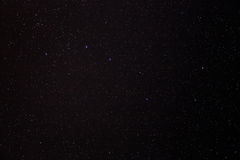 Υπόβαθρο αστεριών νυχτερινού ουρανού Στοκ Εικόνα