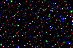 Υπόβαθρο αστεριών Χριστουγέννων διανυσματική απεικόνιση