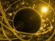 Υπόβαθρο αστρολογίας Στοκ Εικόνες