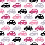 Υπόβαθρο αυτοκινήτων Doodle Στοκ φωτογραφία με δικαίωμα ελεύθερης χρήσης