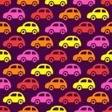 Υπόβαθρο αυτοκινήτων Doodle Στοκ Εικόνα