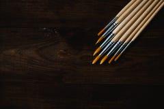 Υπόβαθρο βουρτσών Watercolor Στοκ φωτογραφία με δικαίωμα ελεύθερης χρήσης