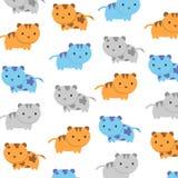 Υπόβαθρο γατακιών γατών και διάνυσμα tecture Στοκ εικόνες με δικαίωμα ελεύθερης χρήσης