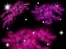 Υπόβαθρο γαλαξιών Στοκ Εικόνα