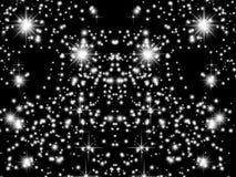 Υπόβαθρο γαλαξιών Στοκ Φωτογραφία