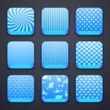 Υπόβαθρο για τα app εικονίδια Στοκ Εικόνα