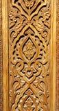 Υπόβαθρο για την ασιατική ασιατική ξύλινη διακόσμηση Στοκ εικόνες με δικαίωμα ελεύθερης χρήσης