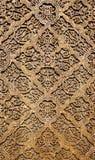 Υπόβαθρο για την ασιατική ασιατική ξύλινη διακόσμηση Στοκ Εικόνα