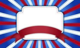 Υπόβαθρο για την 4η Ιουλίου ελεύθερη απεικόνιση δικαιώματος