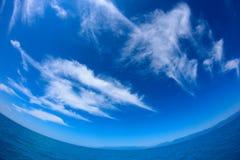 Υπόβαθρο για το ταξίδι θάλασσας Στοκ Εικόνες