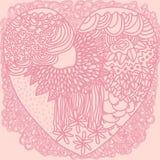 Υπόβαθρο γραφικής παράστασης καρδιών Στοκ Εικόνες