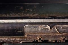Υπόβαθρο γραφομηχανών στοκ εικόνες