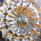 Υπόβαθρο γυαλιού κρυστάλλου Στοκ Εικόνες