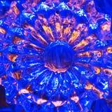 Υπόβαθρο γυαλιού κρυστάλλου Στοκ φωτογραφία με δικαίωμα ελεύθερης χρήσης
