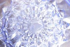 Υπόβαθρο γυαλιού κρυστάλλου Στοκ Εικόνα