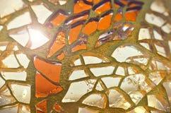 Υπόβαθρο γυαλιού Στοκ Εικόνα