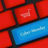 Υπόβαθρο Δευτέρας Cyber απεικόνιση αποθεμάτων
