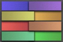 Υπόβαθρο εγγράφου χρώματος τέχνης grunge notpad Στοκ Εικόνα