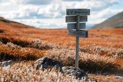Υπόβαθρο δεικτών της Νορβηγίας Sentrum φθινοπώρου Στοκ εικόνες με δικαίωμα ελεύθερης χρήσης
