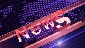 Υπόβαθρο ειδήσεων φιλμ μικρού μήκους