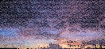 Υπόβαθρο λεκιασμένης της φως πορφύρας γυαλιού Στοκ εικόνες με δικαίωμα ελεύθερης χρήσης