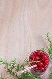 Υπόβαθρο λεμονάδας των βακκίνιων Στοκ φωτογραφίες με δικαίωμα ελεύθερης χρήσης
