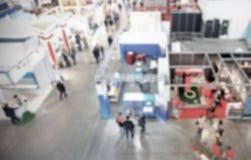 Υπόβαθρο εμπορικών εκθέσεων μια σκόπιμη επίδραση θαμπάδων που εφαρμόζεται με Στοκ φωτογραφίες με δικαίωμα ελεύθερης χρήσης