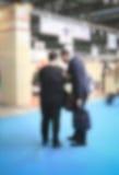 Υπόβαθρο εμπορικών εκθέσεων μια σκόπιμη επίδραση θαμπάδων που εφαρμόζεται με Στοκ εικόνες με δικαίωμα ελεύθερης χρήσης