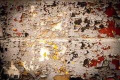 Υπόβαθρο ενός φύλλου σιδήρου με ένα παλαιό ραγισμένο χρώμα Στοκ φωτογραφίες με δικαίωμα ελεύθερης χρήσης