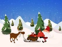 Υπόβαθρο εορτασμού Χαρούμενα Χριστούγεννας Στοκ φωτογραφίες με δικαίωμα ελεύθερης χρήσης