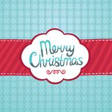 Υπόβαθρο ευχετήριων καρτών Χαρούμενα Χριστούγεννας. Στοκ εικόνα με δικαίωμα ελεύθερης χρήσης